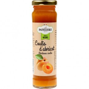 Apricot coulis 70% fruits 165g