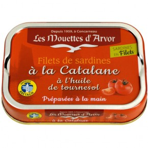 Sardine Fillets Catalan style 100g