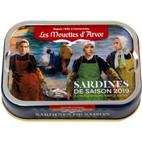 First sardines van't season 115g