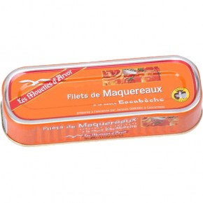 Mackerel Fillets 169g Escabèchesaus