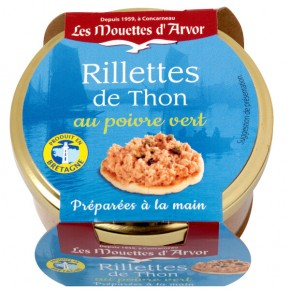 Rilettes tuna with green pepper 125g