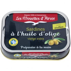 Olive oil sardines without Graat 115g