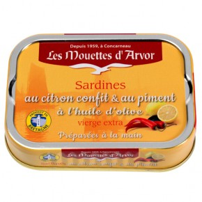 Candied Sardines Lemon & Allspice & Olive oil 115g