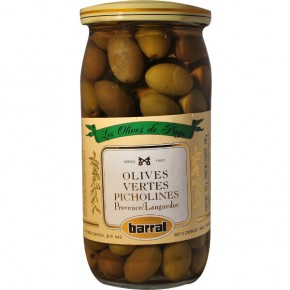 "Green Olives ""Picholines"" 37Cl"