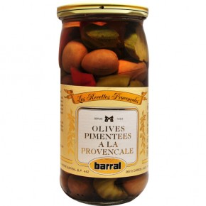 Olives on Provencal way seasoned 37Cl