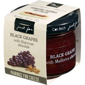 Just for Mini Cheese black grapes with almonds 73g Mallorca