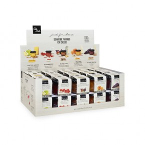 Display Mini Just for Cheese Mix (5 flavors x 6 pieces) 70g