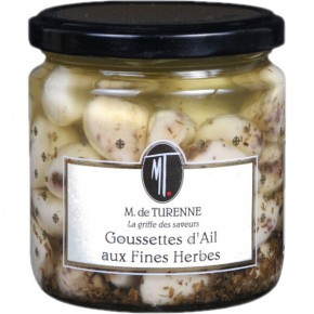 Cloves of garlic with herbs 350ml
