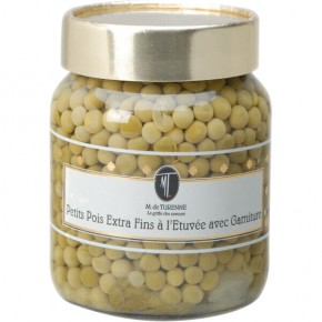 Small peas extra fine white onions 37 Cl