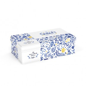 Gouda cheese crispies Delftware Giftset 70g