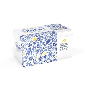 Gouda cheese crispies Delftware Giftset 2x70g