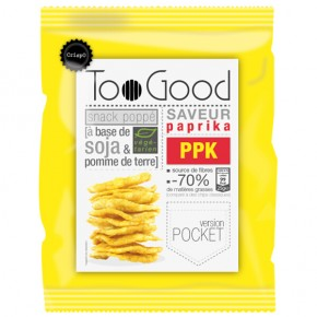 Popped chips with Paprika (gluten-vegan) 25g