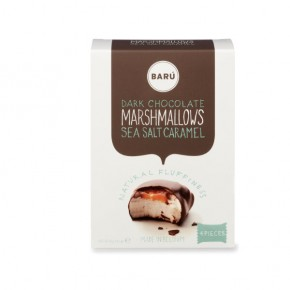 Dark chocolate and sea salt caramel marshmallow 60g