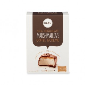 Milk chocolate and coffee cream marshmallow 60g