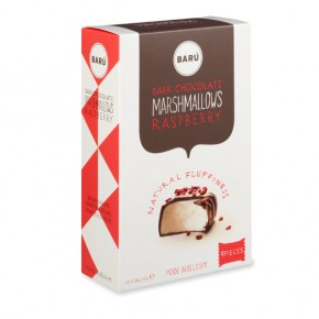 Dark chocolate & raspberry marshmallow 120g
