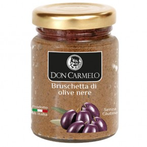 Bruschette with Black Olives 100g