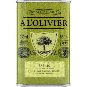 Can Green Basil Olive Oil 250ml