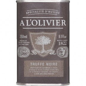 Can Brown Olive Black White. truffle 250ml