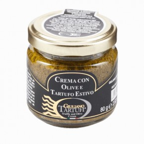 Specialty with olives and summer truffle 80g