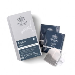 Individually wrapped bags 25s '19 English Rose Teabags 50g